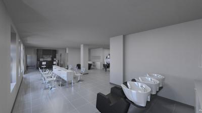 Salon Space - 300mq - 3228ft - Shampoo Area