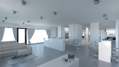 Salon Space 340mq - Reception Area