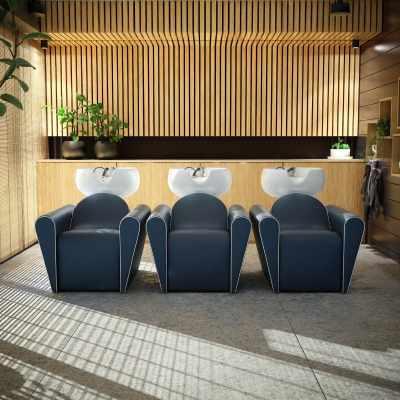 Blueswash Shiatsu - Shampoo Bowls - salon view #1