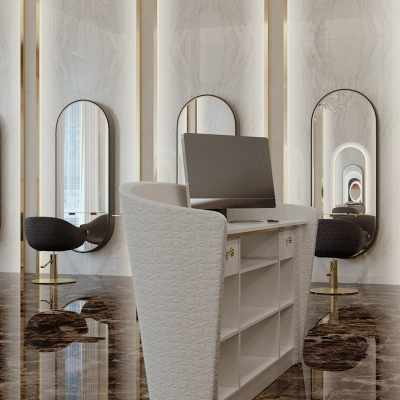 Guildford Desk 200 - Salon Reception Desks - salon view #2