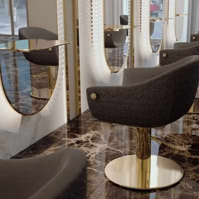 Queen Mary - Styling Salon Chairs - salon view #1