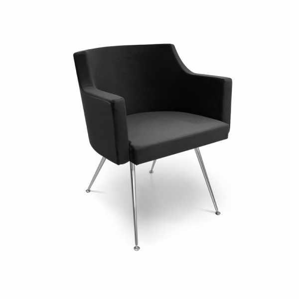 Birkin Sofa Black - Waiting Area Seating