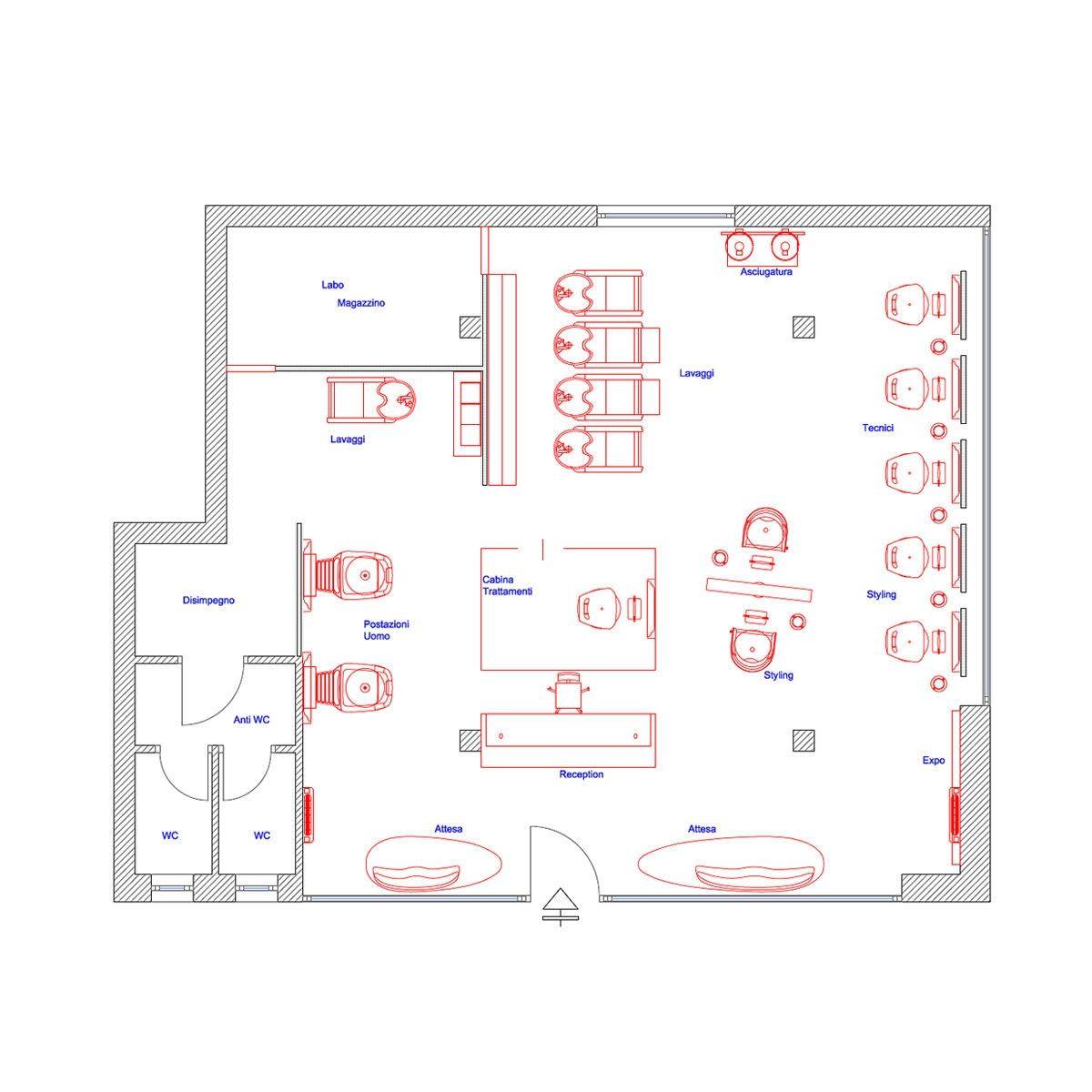 2d salon floor plan salon floor plans salon equipment