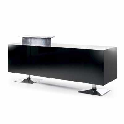 Black Torix - Salon Reception Desks