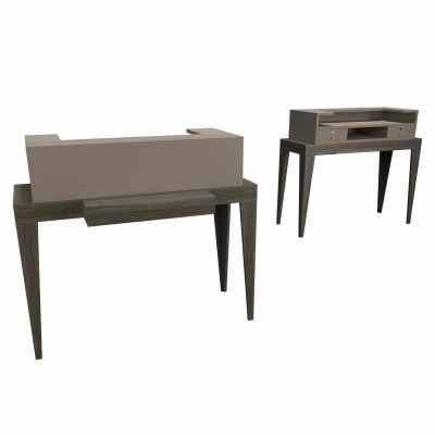 Madison Desk 120 - Salon Reception Desks