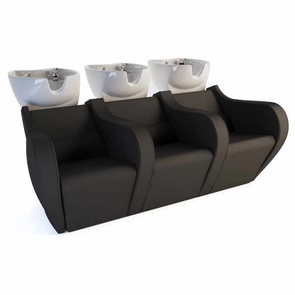 Celebrity Prime Electric Sofa 3P - Shampoo Bowls