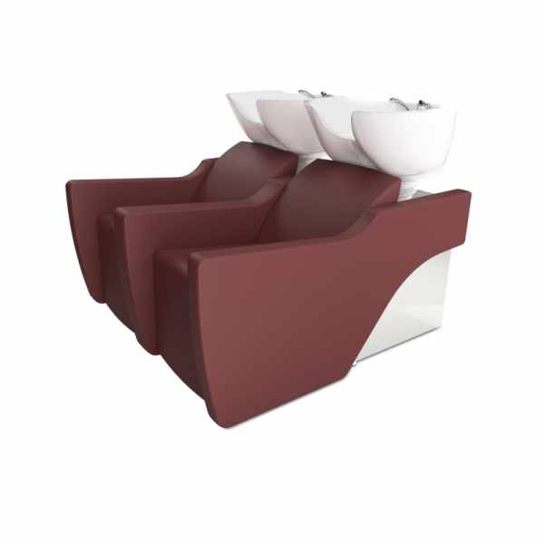 Flatiron 2P Black - Shampoo Bowls