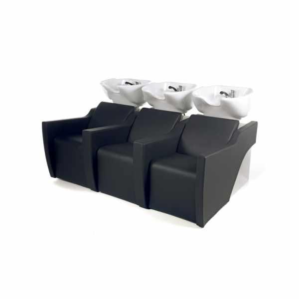 Flatiron 3P Black - Shampoo Bowls