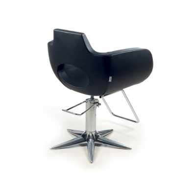 Aureole Black P - Styling Salon Chairs