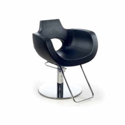 Aureole Black R - Styling Salon Chairs