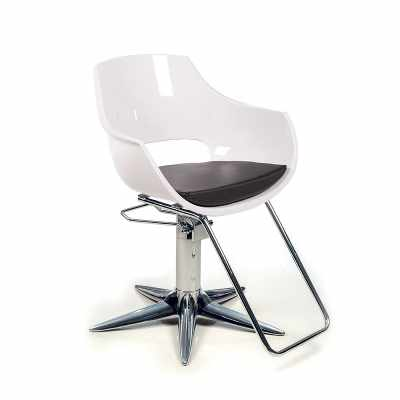 Clara White P - Styling Salon Chairs