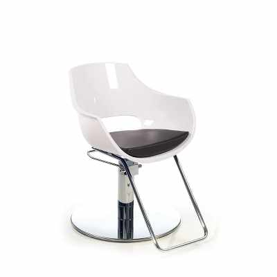 Clara White R - Styling Salon Chairs