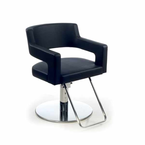 Creusa Black Roto Promo - Styling Salon Chairs