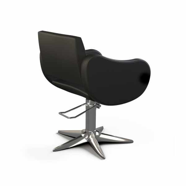 Fifties Black Base Parrot - Styling Salon Chairs