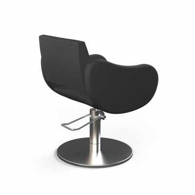 Fifties Black Base Roto - Styling Salon Chairs