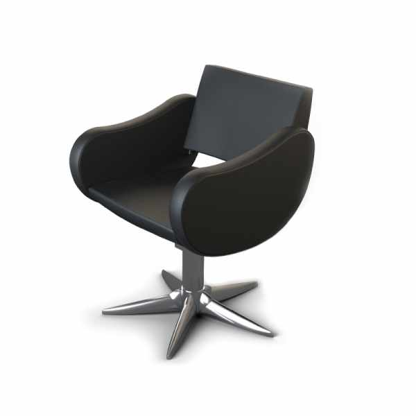 Fifties Black P - Styling Salon Chairs