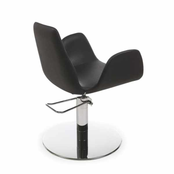 Nysa Black Roto - Styling Salon Chairs