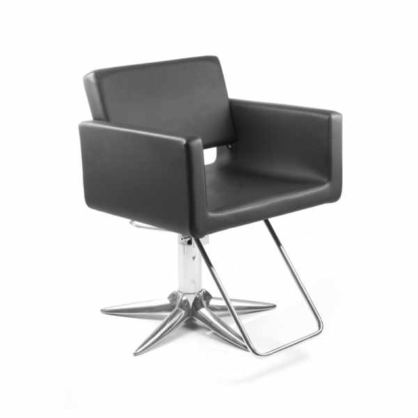 U-shape Black P - Styling Salon Chairs